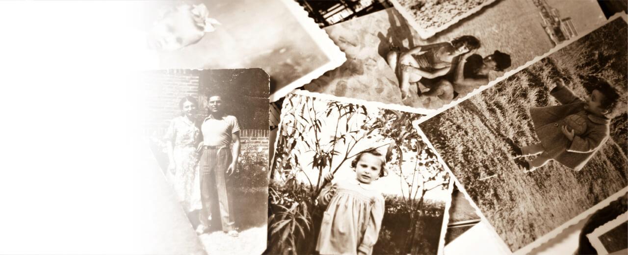 Familienforschung Alte Fotografien von Verwandten