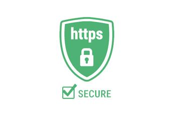 Ein grünes Logo für https Secure