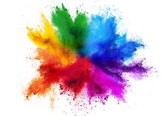 Farbspektrum bei Druck auf Acrylglas