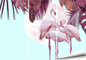 Fototapete Dekor Flamingo