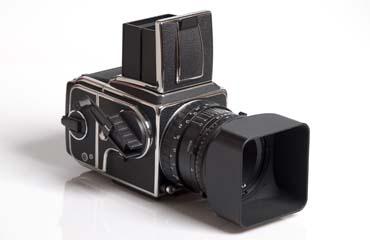 Eine proferssionelle Fotokamera