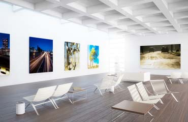 Eine Bilderausstellung