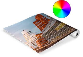 Eine gerollte Architektur-Visualisierung